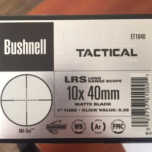 Фото: Продам оптику Bushnell Elite Tactical