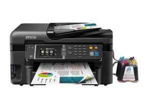 МФУ Epson Workforce WF-3620DWF с СНПЧ