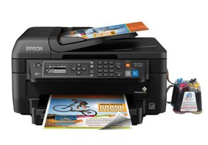 Фото: Мфу Epson Workforce WF-2650 с снпч