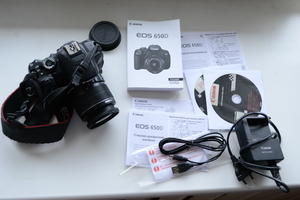 Canon EOS 650D 18-55mm IS II Kit