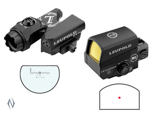 Фото: Продам комплект Leupold D-EVO 6x20mm + Leupold LCO Red Dot дешево!