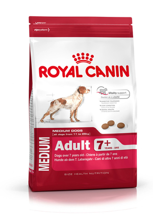 Royal Canin Medium Adult +7 15кг