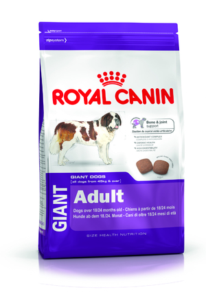Корм для собак royal canin giant adult 15кг.