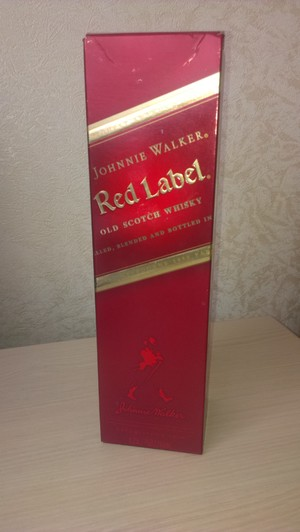 Red Label виски 0,75 л