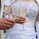 Свадебное платье с буфами фото.