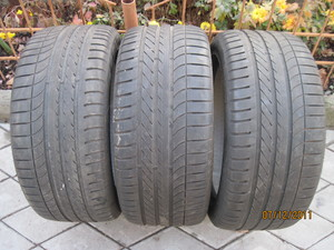 Шины Goodyear Eagle F1 Asymmetric 255/45 R18 103Y- 3 шт, б/у