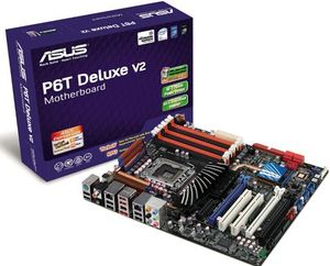 Asus P6T Deluxe V2 + Intel Core i7-920 2. 66