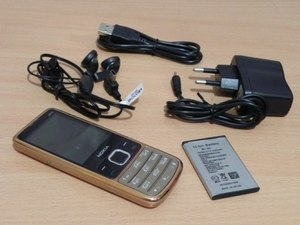 Мобильный телефон Nokia 6700 (2 sim, Bluetooth) Gold металл