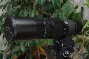 Super-Multi-Coated Takumar 1: 5. 6 400mm M42