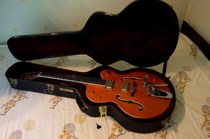 Продам Gretsch 6120 SSLVO Laquer Vintage Orange