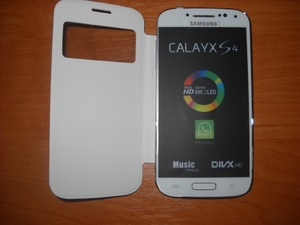 Samsung S4 4, 7 black white (2 sim, tv, java, wi-fi)