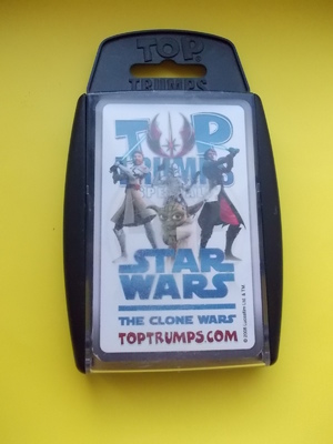 Карточная Игра - Top Trumps  StarWars - Clone Wars