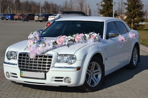Автомобиль на свадьбу Chrysler 300 C ( Крайслер 300С)